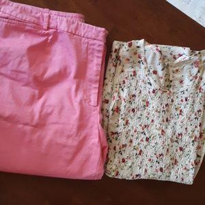 EUC Liz Claiborne New York bermuda shorts 20W